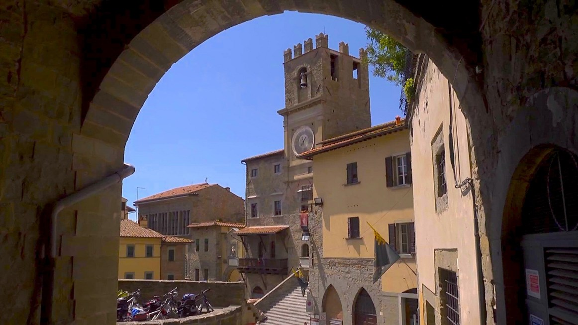 Arezzo e il tesoro del Casentino Cortona Talpa produzioni 2016