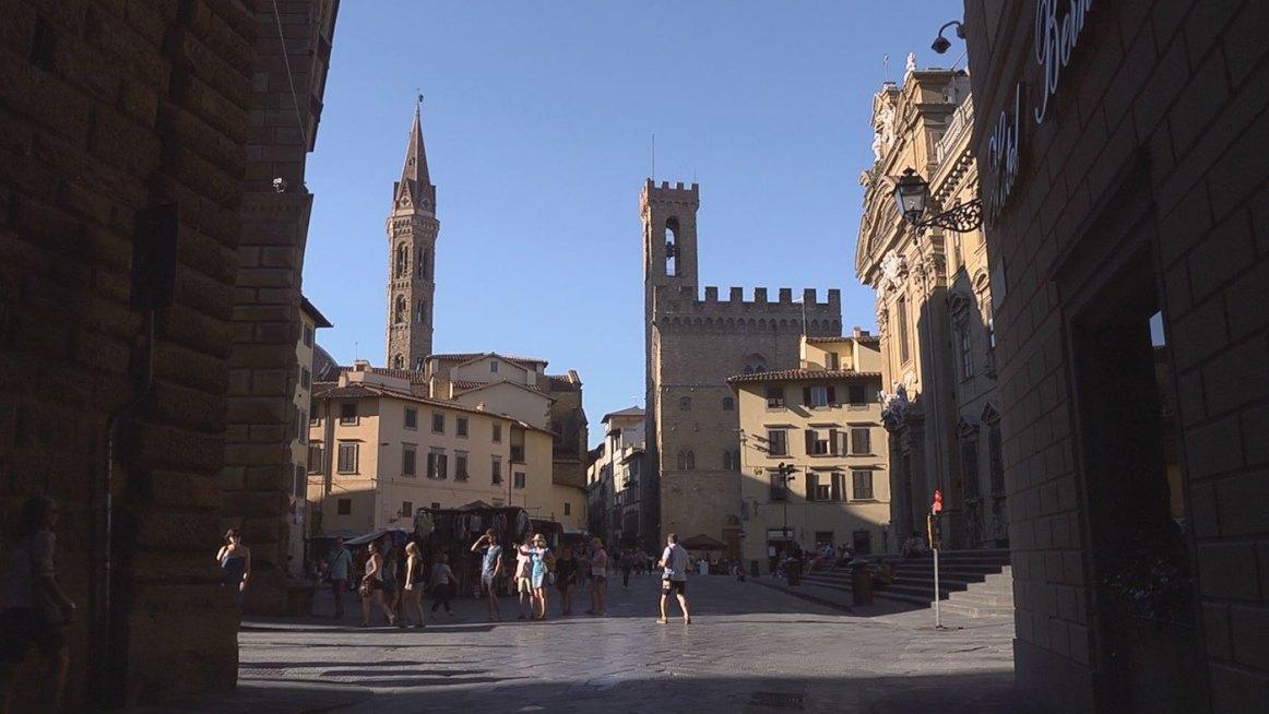 Firenze il Rinascimento degli artigiani santa croce 2016 Talpa produzioni