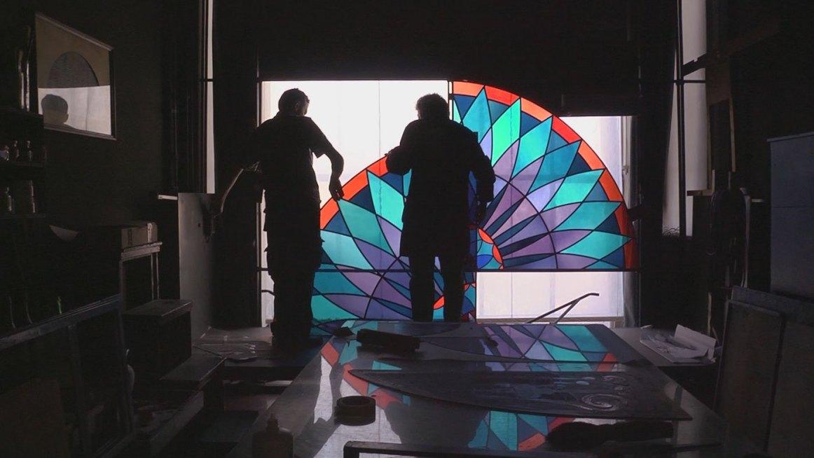 Firenze il Rinascimento degli artigiani vetraio Talpa produzioni 2016